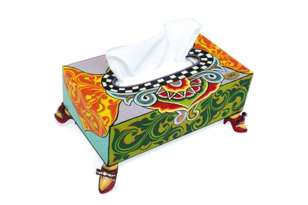 Tissue Box 4151- Tom´s Drag - front view1