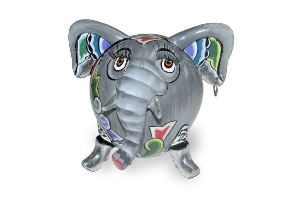 Elefant Hathi  (Silver Line)  4507 - front view1
