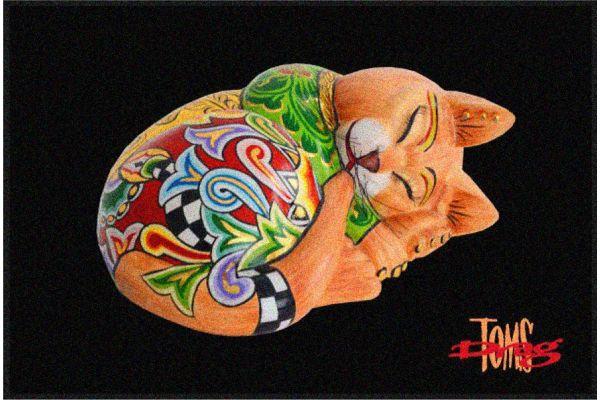 Fußmatte Katze 6202 Tom´s Drag