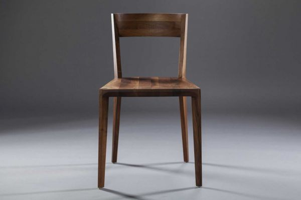 Artisan Hanny Stuhl - Breite: 47 cm, Tiefe: 53 cm,  Höhe: 80 cm - in verschiedenen Holzarten - front view1