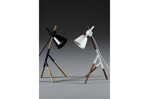 Artisan Insert Lamp (S) - Höhe: 40 cm - in verschiedenen Holzarten - front view1