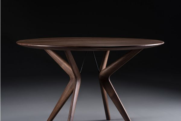Artisan Lakri runder Esstisch - Ø 80 bis 160 cm - Artisan Esstisch - front view1