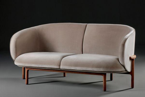 Artisan Mela Lounge Sofa 2-sitzig - Artisan Sofa - front view1