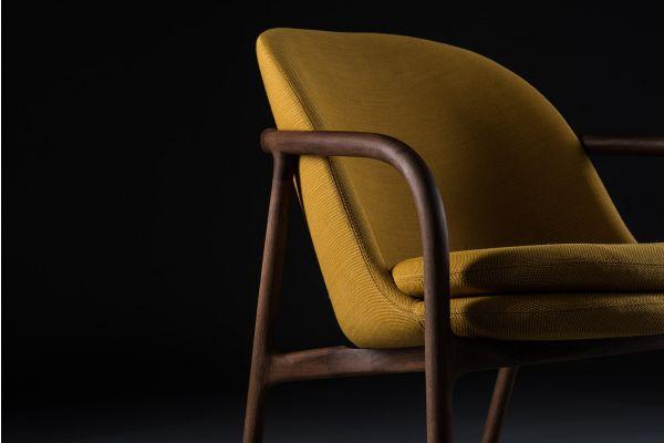 Artisan Neva Lounge Trimmed Sessel - Artisan Sessel - closeup1