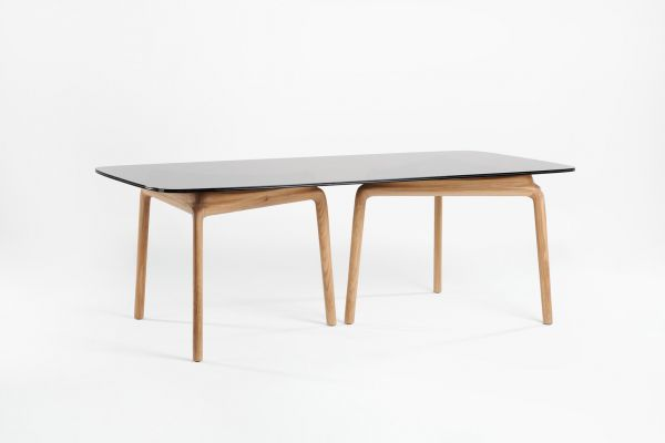 Artisan Pascal rechteckiger Esstisch - 180 bis 280 cm - Artisan Esstisch - front view1