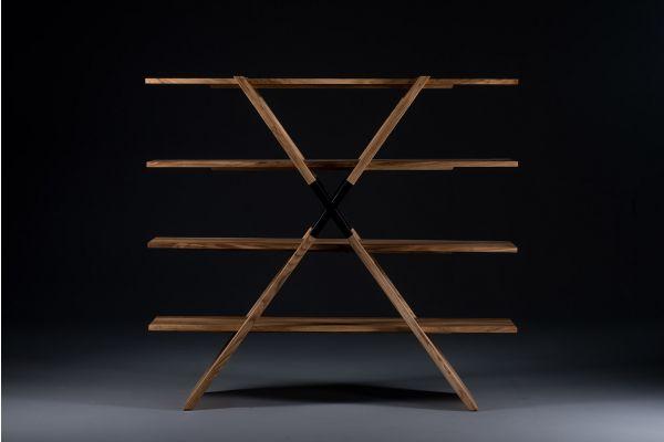 Artisan X Shelf Regal - Artisan Regal - front view1