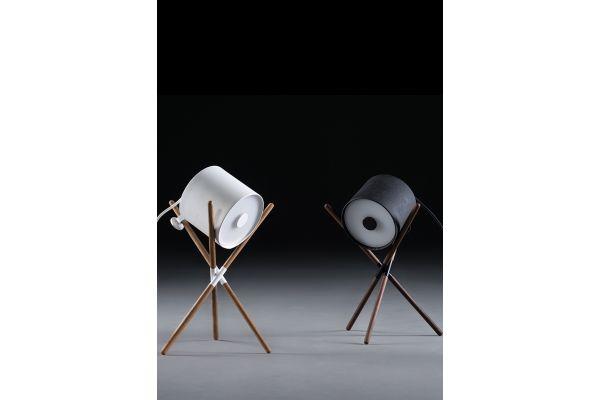 Artisan Shift Tischleuchte (S) - Höhe: 40 cm - in verschiedenen Holzarten - front view1