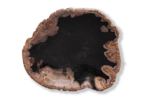 SOW versteinertes Holz Schale - SOW Schale - top view1