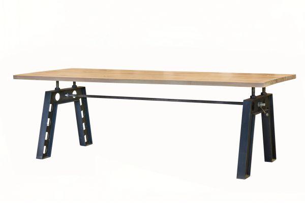 Tischgestell im Industriedesign aus Stahl - SOW 005 - front view