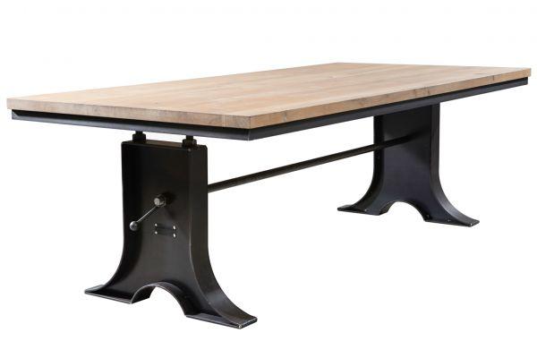 Tischgestell im Industriedesign aus Stahl - SOW 016 - front view