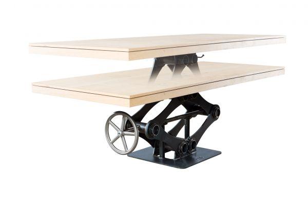Tischgestell im Industriedesign aus Stahl - SOW 034 - front view