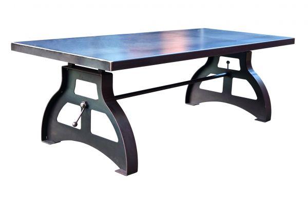 Tischgestell im Industriedesign aus Stahl - SOW 009 - front view