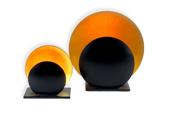 Teelicht Kerzen (2er-Set) - Halo - front view1