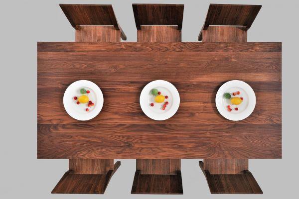 Vitamin Design Esstisch Cubus 4 B10X10 - Vitamin Design Esstisch - top view1